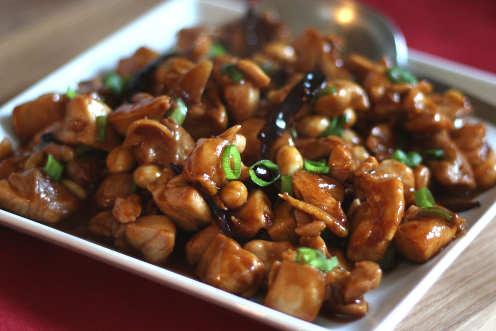 Barefeet In The Kitchen: Kung Pao Chicken