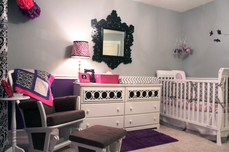 Unique Baby Furniture Baby Nursery White Elegant Design