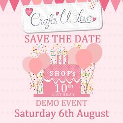 Shop's 10th Birthday Demo Event