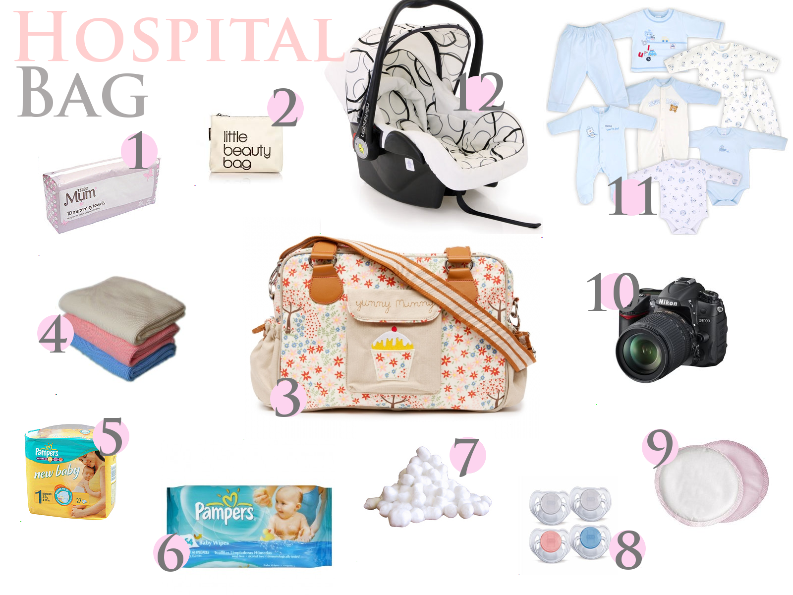 A Few First Time Mums Often Ask What Do I Need To Put In My Hospital Bag Or Worry If They Have Everything There Well Did Anyway