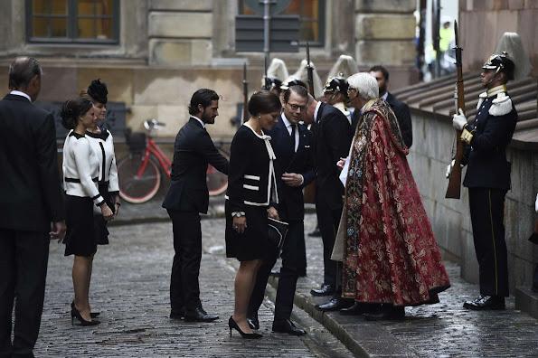 Crown Princess Victoria, Prince Daniel, Prince Carl Philip, Princess Sofia and Princess Madeleine