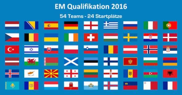 em qualifikation live