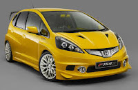 Modifikasi Honda Jazz minimalis