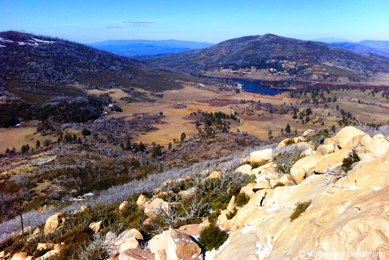View of Lake Cuyamaca Along San Diego's Stonewall Peak Hiking Trail