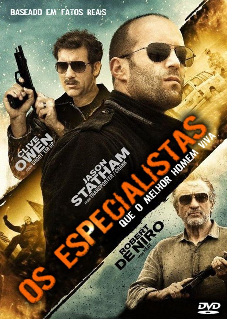 Filme Os Especialistas Dublado AVI BDRip