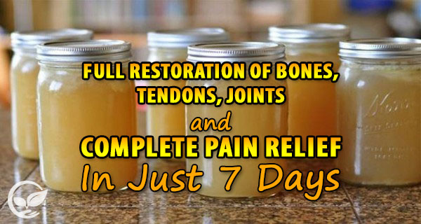 bone broth that helps with all joint pains