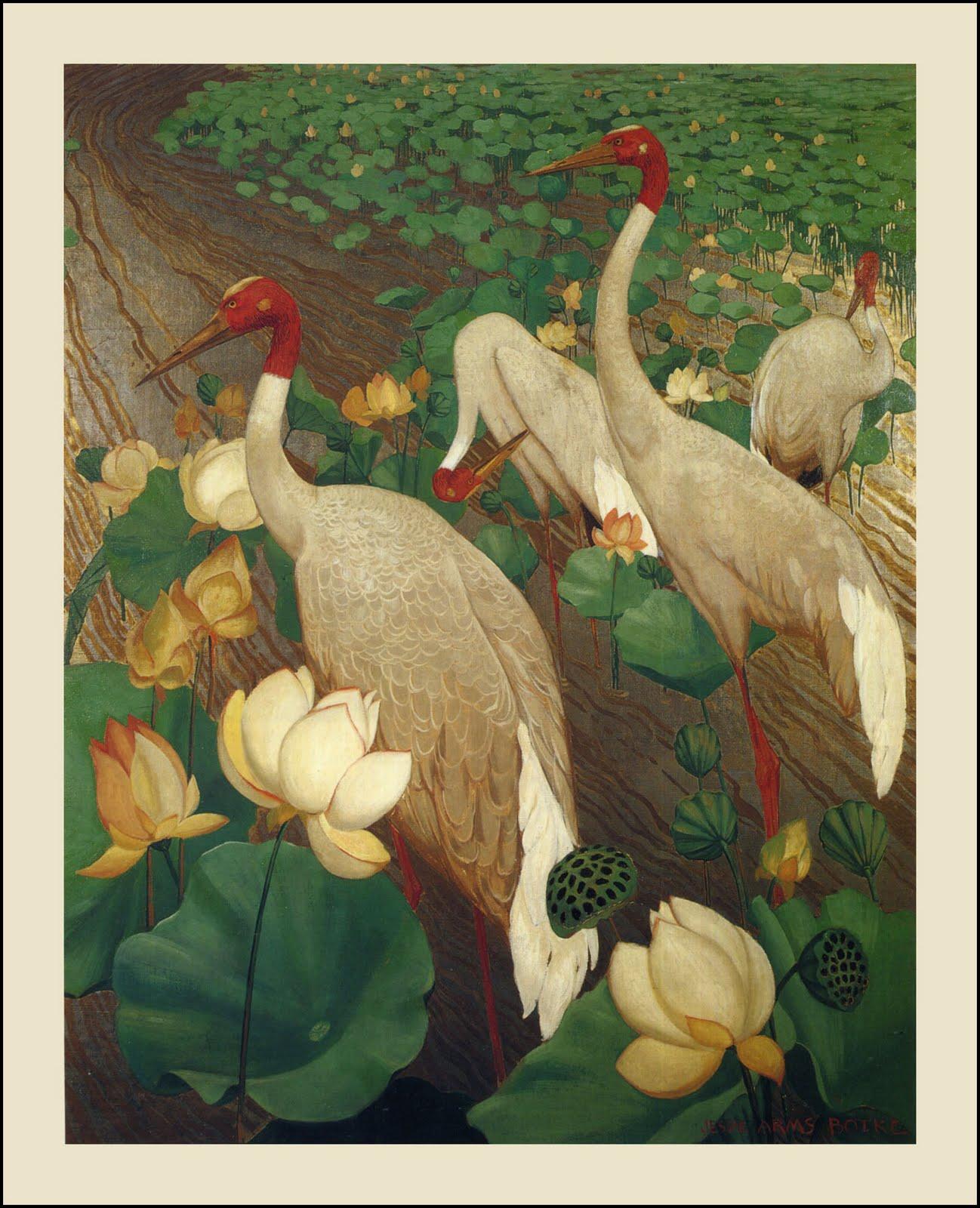 Jessie Arms Botke cranes