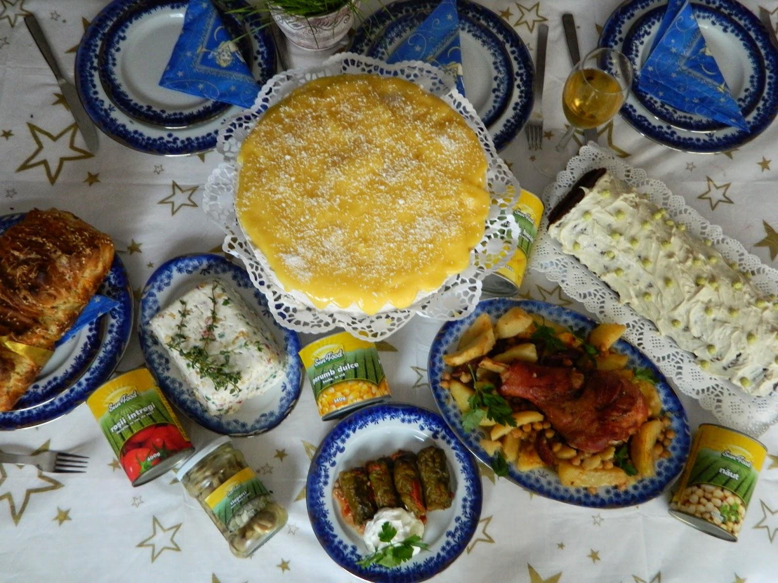 Masa festiva cu Sun Food