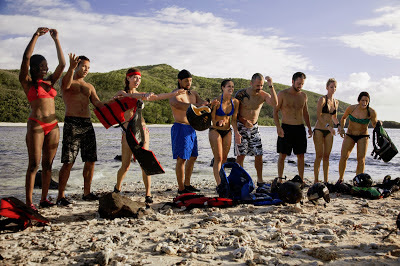 These contestants are about to take a 72 Hour trek