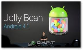 Android version 4.1 jelly bean