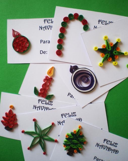 Manualidades tres angeles tarjetas para navidad en - Tarjeta navidad manualidades ...