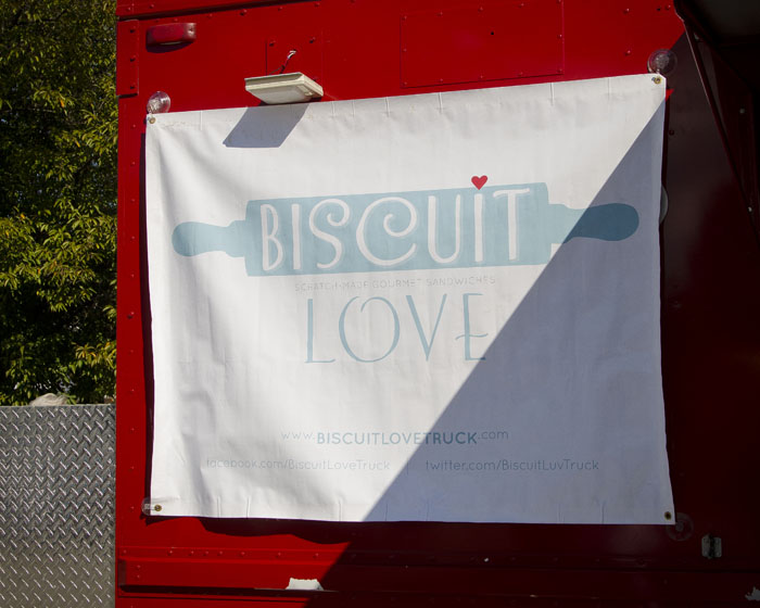 Biscuit Love Truck at the Feastival food festival in Nashville Tennessee