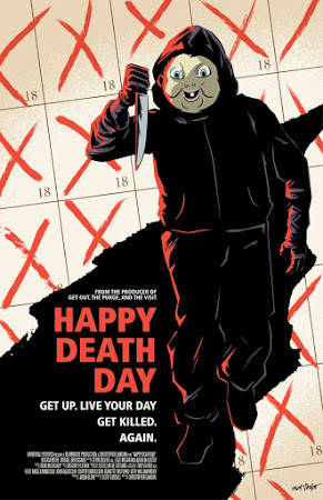 Poster Of Hollywood Film Watch Online Happy Death Day 2017 Full Movie Download Free Watch Online 300MB