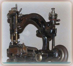Antiche macchine per cucire