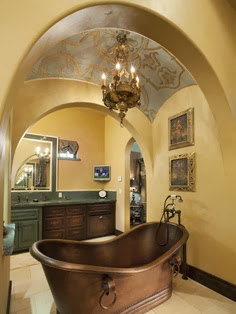 Metallic Tub Design