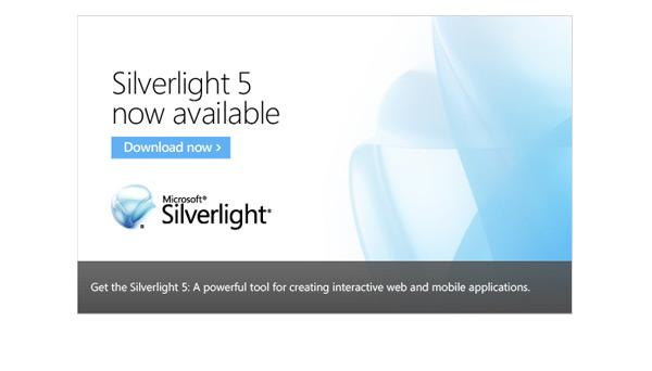 Download Microsoft Silverlight -