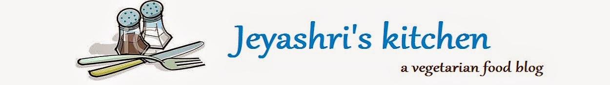 Jeyashri's Kitchen