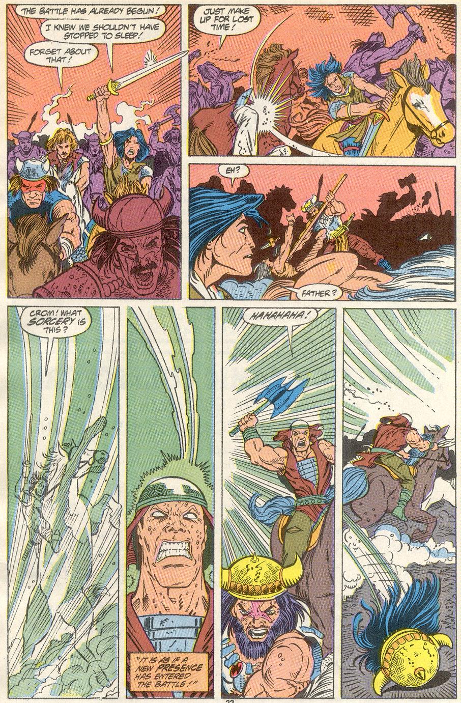 Conan the Barbarian (1970) Issue #234 #246 - English 18