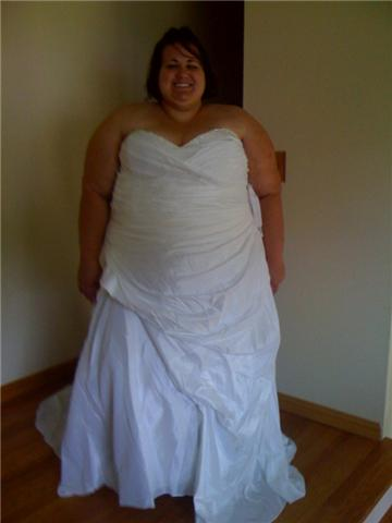 Touch mish for Plus size wedding dresses size 32 and up
