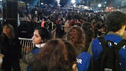 PAPA FRANCISCO: VIGILIA EN PLAZA DE MAYO vigilia en plaza de mayo por la asunciã³n del papa francisco