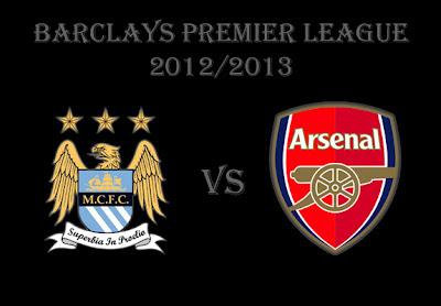 Manchester City vs Arsenal Barlays Premier League 2012