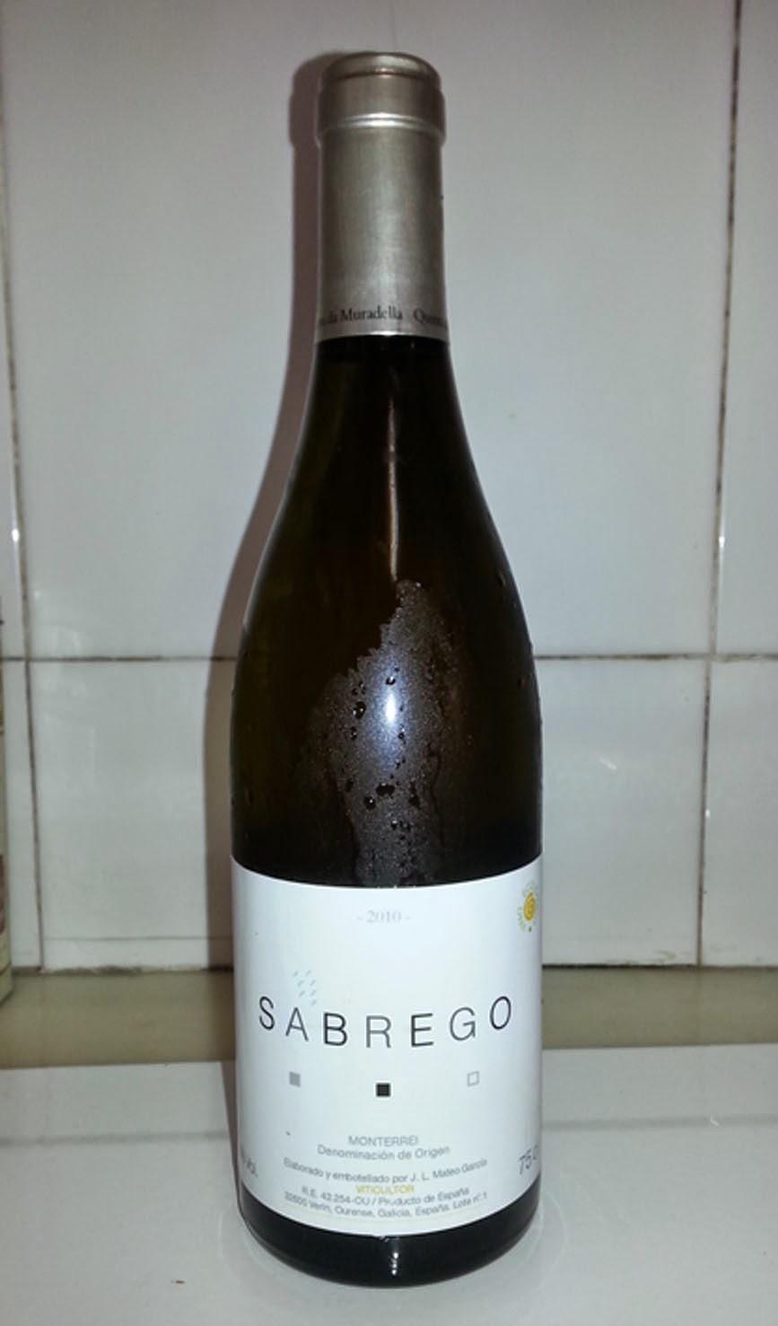 Sabrego 2010, Denominación de Origen Monterrei
