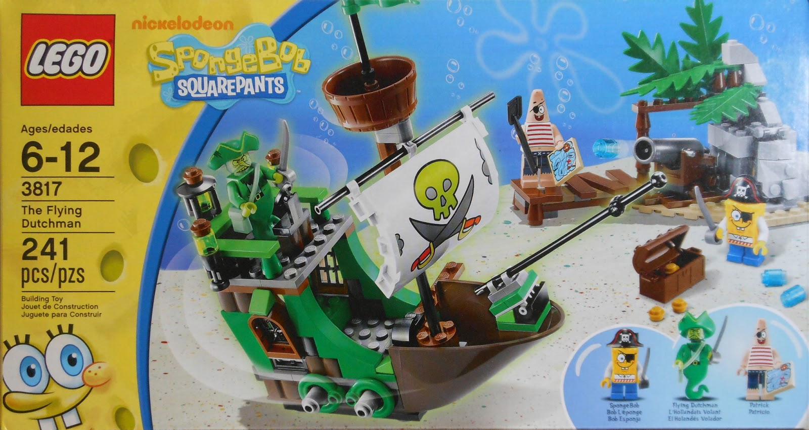 Toni Builds With Lego Spongebob The Flying Dutchman Review
