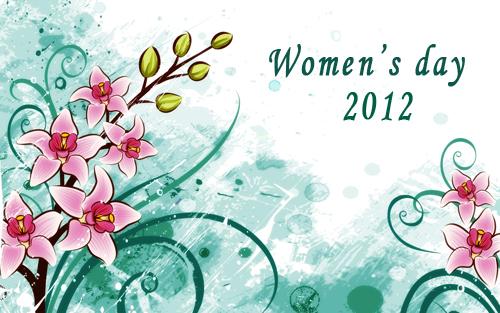 Tutooos Photoshop La Journee Mondiale De La Femme 8 Mars 2012 Collection Des Meilleurs Fonds D Ecran Vectoriels De Fete De Femme Gratuit