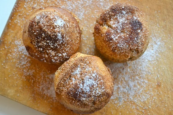 Nutella and Cinnamon Muffins