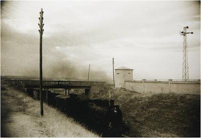 Abuelohara Leganes tren junto puente de Malpartida