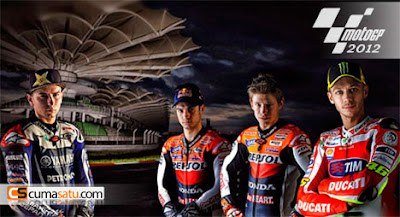 Nama Pembalap MotoGP 2012