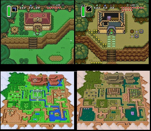 A Link To The Past Dark World Map.Tower22 Post Mortem Review 1 Zelda