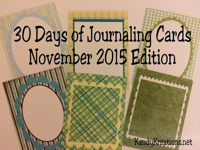 Journal your way through the month of November with these 30 printable journaling cards.  Complete with Thanksgiving journal cards and other fun themes you can do your lists, scrapbooking, or fun notes to your friends and kids.