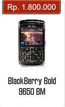 Spesifikasi Dan Harga BlackBerry Bold 9650