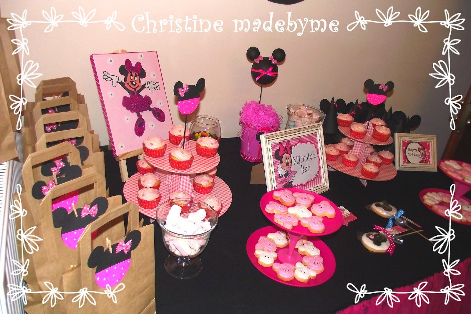 """Παιδικό πάρτυ """"Minnie Mouse"""""""