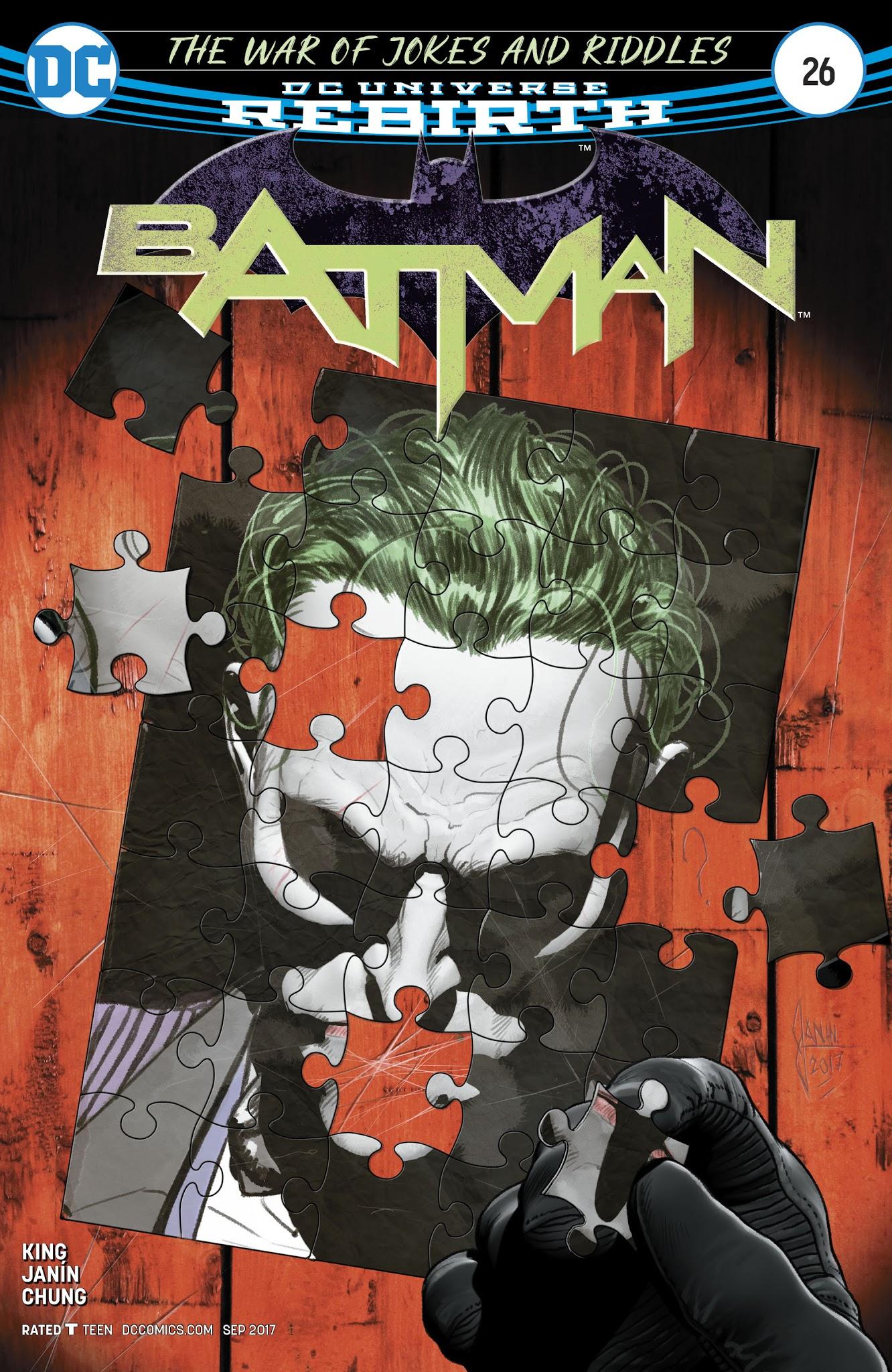 Batman (2016) 26 Page 1