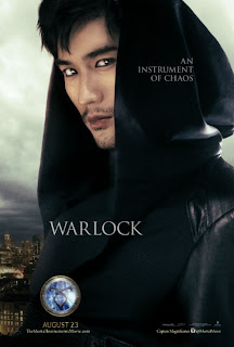 Warlock Mortal Instruments City of Bones Poster
