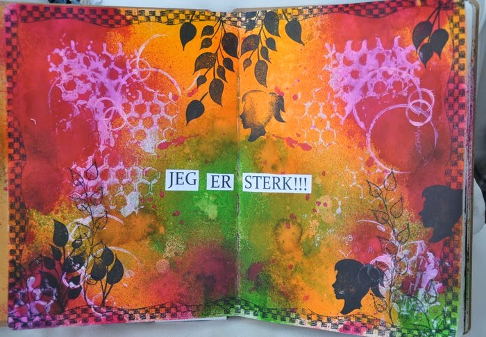 Min lille Art Journal blog