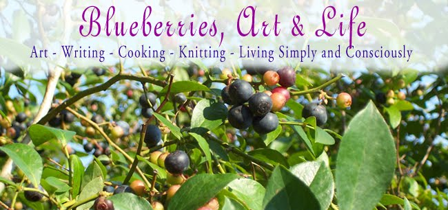 Blueberries, Art and Life