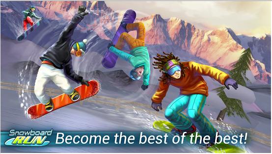 Snowboard Run v1.3 APK MOD