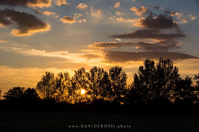 Lazio sunset - il tramonto celato