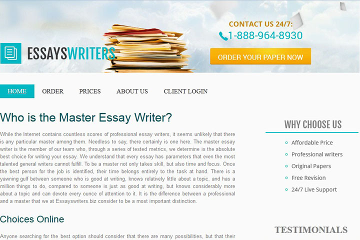 Essay writing service for cheap minutes