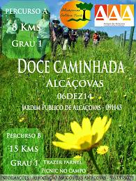 Próxima caminhada gratuita do Projeto Alcáçovas Outdoor Trails: