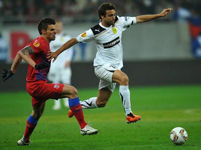 Steaua Bucuresti 3 - 1 AEK Larnaca (1)