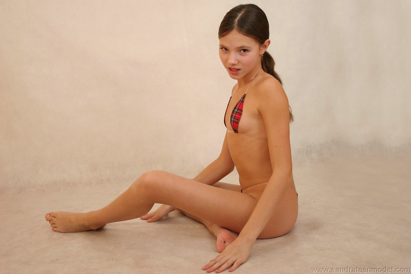 Early Sandra Orlow Model Nude
