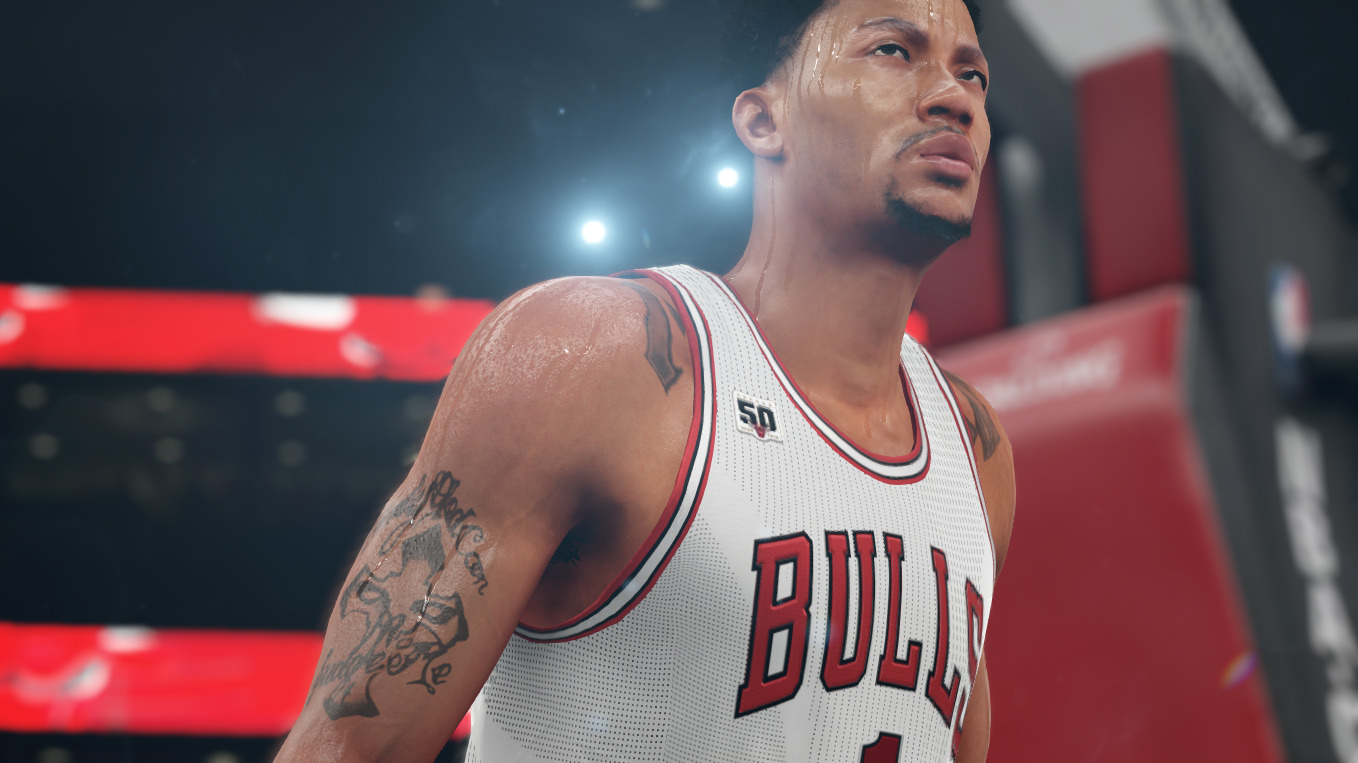 NBA 2k16 Screenshot - Derrick Rose Bulls