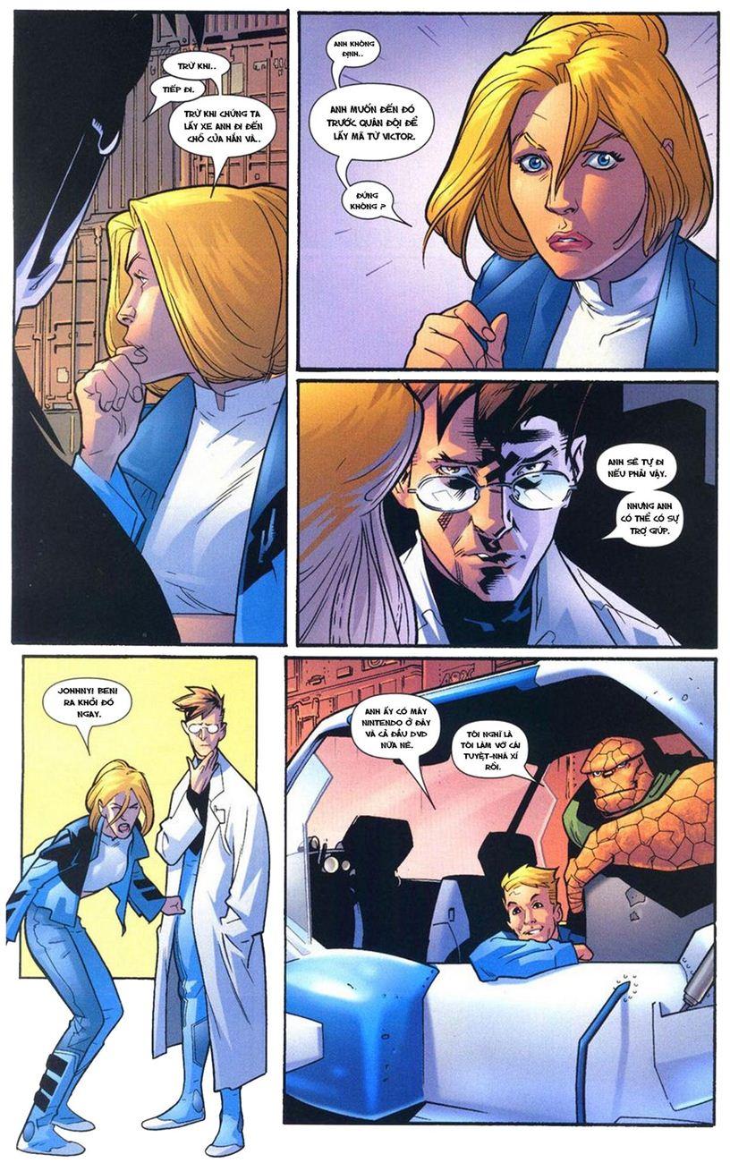 Ultimate Fantastic Four chap 10 - Trang 18