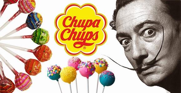 """História do pirulito e criação da marca """"Chupa Chups"""". Inspiração de Salvador Dalí."""