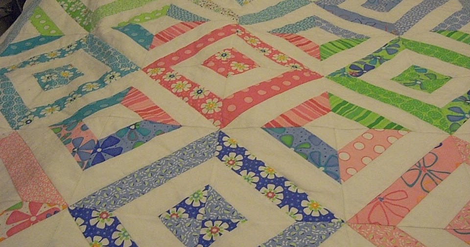 First Quilting Steps My First Jelly Roll Or As Pat Says
