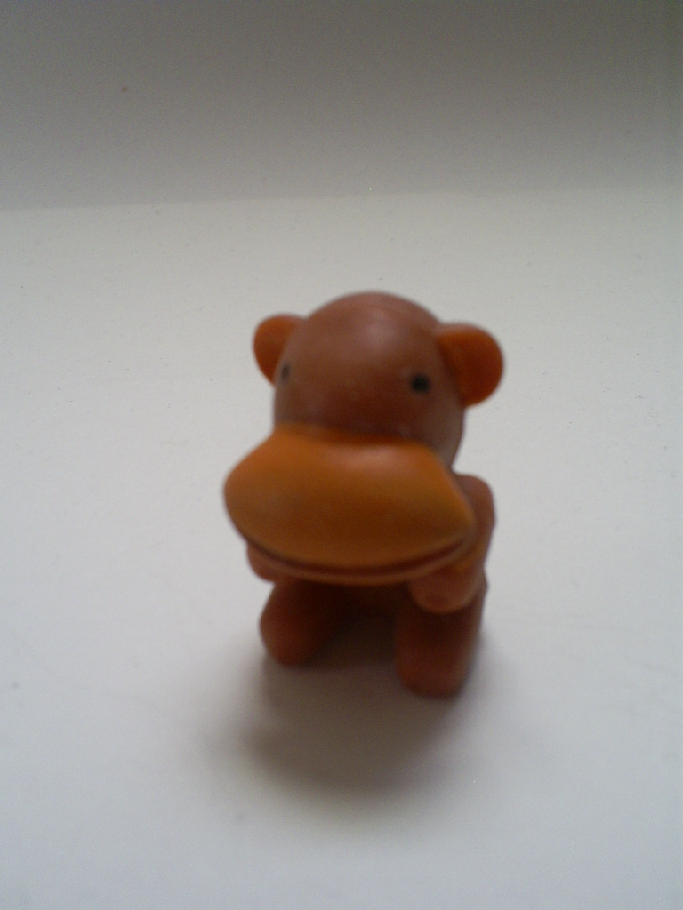 Squishy Animals Pencil Toppers : That Figures: COOL CAPSULES: Squishy Rubber Pencil Topper Monkey Thing